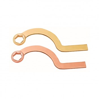 №157A Ключ накидной серповидный искробезопасный